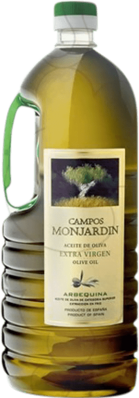 15,95 € Free Shipping | Cooking Oil Castillo de Monjardín Campos de Monjardín Spain Bottle 2 L