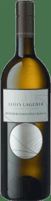 16,95 € Free Shipping | White wine Lageder Joven Otras D.O.C. Italia Italy Pinot White Bottle 75 cl