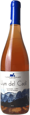 12,95 € Free Shipping   Rosé wine Torre del Veguer Llum del Cadí Joven Catalonia Spain Pinot Black Bottle 75 cl
