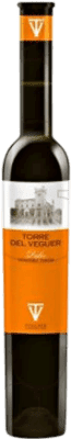 26,95 € Envio grátis | Vinho fortificado Torre del Veguer Verema Tardana Muscat D.O. Penedès Catalunha Espanha Mascate Meia Garrafa 37 cl