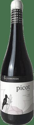 9,95 € Free Shipping | Red wine Mas Ramoneda Picot D.O. Costers del Segre Catalonia Spain Tempranillo, Merlot, Syrah Bottle 75 cl