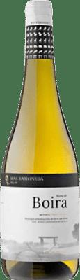 7,95 € Free Shipping | White wine Mas Ramoneda Blanc de Boira Joven D.O. Costers del Segre Catalonia Spain Grenache Bottle 75 cl