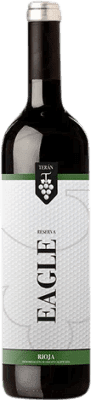 12,95 € Free Shipping | Red wine Marqués de Terán Eagle Reserva D.O.Ca. Rioja The Rioja Spain Tempranillo, Grenache, Mazuelo, Carignan Bottle 75 cl