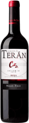 8,95 € Free Shipping | Red wine Marqués de Terán Crianza D.O.Ca. Rioja The Rioja Spain Tempranillo Bottle 75 cl