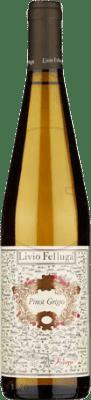 22,95 € Free Shipping | White wine Livio Felluga Joven Otras D.O.C. Italia Italy Pinot Grey Bottle 75 cl