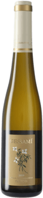 7,95 € Envio grátis | Vinho branco Gramona Gessami Joven D.O. Penedès Catalunha Espanha Mascate, Sauvignon Branca Meia Garrafa 37 cl