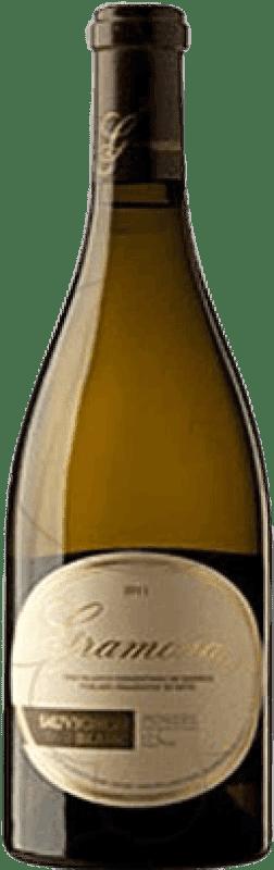34,95 € Free Shipping | White wine Gramona Crianza D.O. Penedès Catalonia Spain Sauvignon White Magnum Bottle 1,5 L
