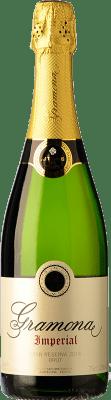 22,95 € Free Shipping | White sparkling Gramona Imperial Brut Gran Reserva D.O. Cava Catalonia Spain Macabeo, Xarel·lo, Chardonnay Bottle 75 cl