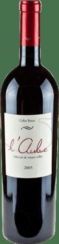 37,95 € Free Shipping | Red wine Batea L'Aube Crianza D.O. Terra Alta Catalonia Spain Merlot, Grenache, Cabernet Sauvignon Magnum Bottle 1,5 L