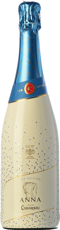 12,95 € Free Shipping | White sparkling Codorníu Anna Ice Edition Semi Dry D.O. Cava Catalonia Spain Macabeo, Xarel·lo, Chardonnay, Parellada Bottle 75 cl