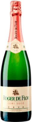 3,95 € Free Shipping   White sparkling Codorníu Roger de Flor Semi Dry D.O. Cava Catalonia Spain Macabeo, Xarel·lo, Parellada Bottle 75 cl   Thousands of wine lovers trust us to get the best price guarantee, free shipping always and hassle-free shopping and returns.