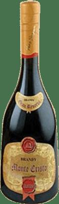 66,95 € Free Shipping | Brandy Pérez Barquero Monte Cristo Selección Spain Bottle 70 cl