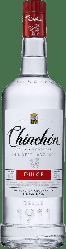 9,95 € Envío gratis | Anisado González Byass Chinchón de la Alcoholera Dulce España Botella Misil 1 L