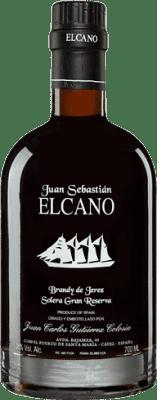 99,95 € Free Shipping | Brandy Gutiérrez Colosía Juan Sebastián El Cano Spain Bottle 70 cl