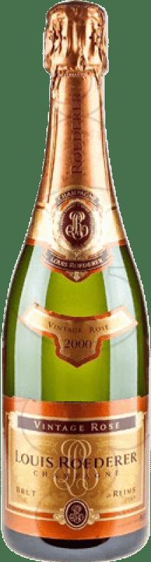 72,95 € Free Shipping   Rosé sparkling Louis Roederer Rosé Vintage Brut Gran Reserva A.O.C. Champagne France Pinot Black, Chardonnay Bottle 75 cl