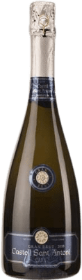 17,95 € Free Shipping   White sparkling Castell Sant Antoni Brut Gran Reserva D.O. Cava Catalonia Spain Macabeo, Xarel·lo, Chardonnay, Parellada Bottle 75 cl   Thousands of wine lovers trust us to get the best price guarantee, free shipping always and hassle-free shopping and returns.
