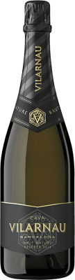 8,95 € Free Shipping | White sparkling Vilarnau Castell Brut Nature Reserva D.O. Cava Catalonia Spain Macabeo, Chardonnay, Parellada Bottle 75 cl | Thousands of wine lovers trust us to get the best price guarantee, free shipping always and hassle-free shopping and returns.