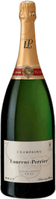 82,95 € Free Shipping | White sparkling Laurent Perrier Brut Gran Reserva A.O.C. Champagne France Pinot Black, Chardonnay, Pinot Meunier Magnum Bottle 1,5 L | Thousands of wine lovers trust us to get the best price guarantee, free shipping always and hassle-free shopping and returns.