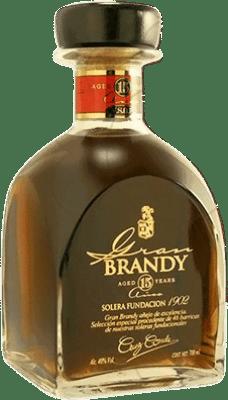43,95 € Free Shipping | Brandy Cruz Conde Gran Cruz Spain Bottle 70 cl