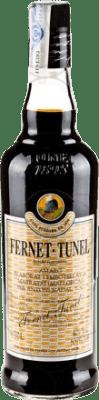 8,95 € Envío gratis | Digestivo Antonio Nadal Fernet Tunel España Botella 70 cl
