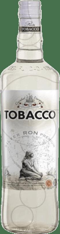 7,95 € Envío gratis | Ron Antonio Nadal Tobacco Blanco España Botella Misil 1 L