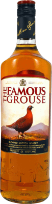 15,95 € Free Shipping | Whisky Blended Glenturret Famous Grouse United Kingdom Missile Bottle 1 L