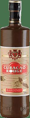 8,95 € Envío gratis | Triple Seco Bardinet Curaçao Vermell España Botella 70 cl