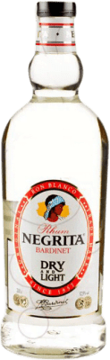 17,95 € Free Shipping | Rum Bardinet Negrita Double Silver Blanco Spain Special Bottle 2 L