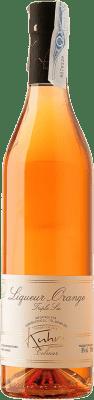 28,95 € Envío gratis | Triple Seco Kuhri Orange Francia Botella 70 cl