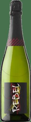 4,95 € Envío gratis | Espumoso blanco 1968 Rebel Brut Joven Cataluña España Macabeo, Xarel·lo, Parellada Botella 75 cl