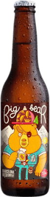 1,95 € Envío gratis   Cerveza Barcelona Beer Big Bear Pale Ale Gluten Free España Botellín Tercio 33 cl