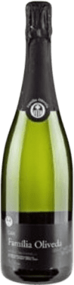 5,95 € Free Shipping | White sparkling Caves Freixa Rigau Familia Oliveda Brut Nature Reserva D.O. Cava Catalonia Spain Macabeo, Xarel·lo Bottle 75 cl | Thousands of wine lovers trust us to get the best price guarantee, free shipping always and hassle-free shopping and returns.