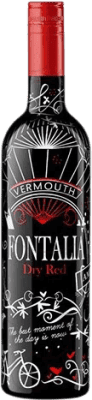 8,95 € Free Shipping | Vermouth Bellmunt del Priorat Fontalia Dry Red Spain Bottle 75 cl