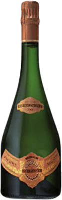 66,95 € Free Shipping   White sparkling Champagne Pierre Mignon Cuvée Madame Swarovski Brut Gran Reserva 2008 A.O.C. Champagne France Pinot Black, Chardonnay, Pinot Meunier Bottle 75 cl   Thousands of wine lovers trust us to get the best price guarantee, free shipping always and hassle-free shopping and returns.