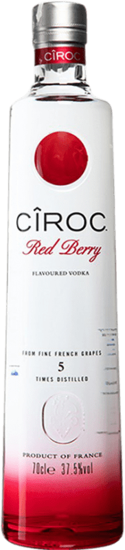 35,95 € Free Shipping | Vodka Cîroc Red Berry France Bottle 70 cl