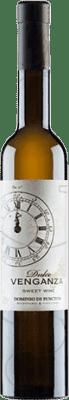 7,95 € Free Shipping | Fortified wine Punctum Dulce Venganza Sweet I.G.P. Vino de la Tierra de Castilla Castilla la Mancha y Madrid Spain Chardonnay Half Bottle 50 cl