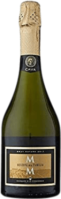 5,95 € Free Shipping | White sparkling Marqués de La Concordia Brut Nature Reserva D.O. Cava Catalonia Spain Macabeo, Xarel·lo, Chardonnay, Parellada Bottle 75 cl | Thousands of wine lovers trust us to get the best price guarantee, free shipping always and hassle-free shopping and returns.
