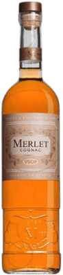 45,95 € Free Shipping | Cognac Merlet V.S.O.P. Very Superior Old Pale France Bottle 70 cl