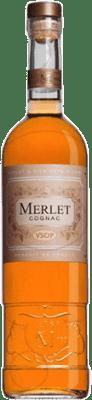 56,95 € Envoi gratuit | Cognac Merlet V.S.O.P. Very Superior Old Pale France Bouteille 70 cl