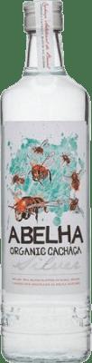 24,95 € Envío gratis | Cachaza Abelha Organic Brasil Botella 70 cl