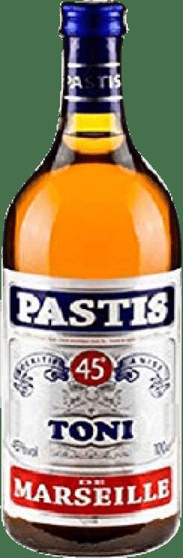 8,95 € Envío gratis   Pastis Toni Francia Botella Misil 1 L