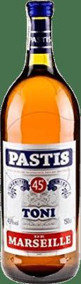 16,95 € Free Shipping | Pastis Toni France Magnum Bottle 1,5 L