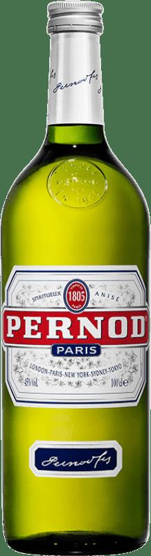 13,95 € Envío gratis   Pastis Pernod 45 Francia Botella Misil 1 L