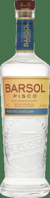 25,95 € Envoi gratuit | Pisco San Isidro Barsol Selecto Acholado Pérou Bouteille 70 cl