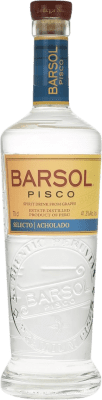 25,95 € Free Shipping | Pisco San Isidro Barsol Selecto Acholado Peru Bottle 70 cl