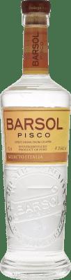 32,95 € Envío gratis | Pisco San Isidro Barsol Selecto Italia Perú Botella 70 cl
