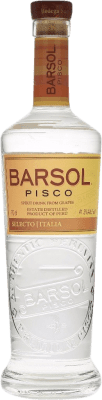 32,95 € Kostenloser Versand | Pisco San Isidro Barsol Selecto Italia Peru Flasche 70 cl