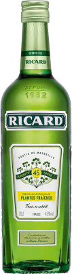 11,95 € Envoi gratuit | Pastis Pernod Ricard Plantes Fraiches France Bouteille 70 cl