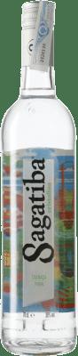 14,95 € Envío gratis | Cachaza Sagatiba Pura Brasil Botella 70 cl