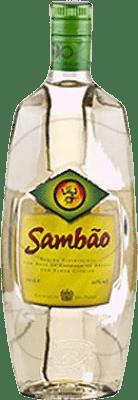 11,95 € Envío gratis | Cachaza Sambao Brasil Botella 70 cl